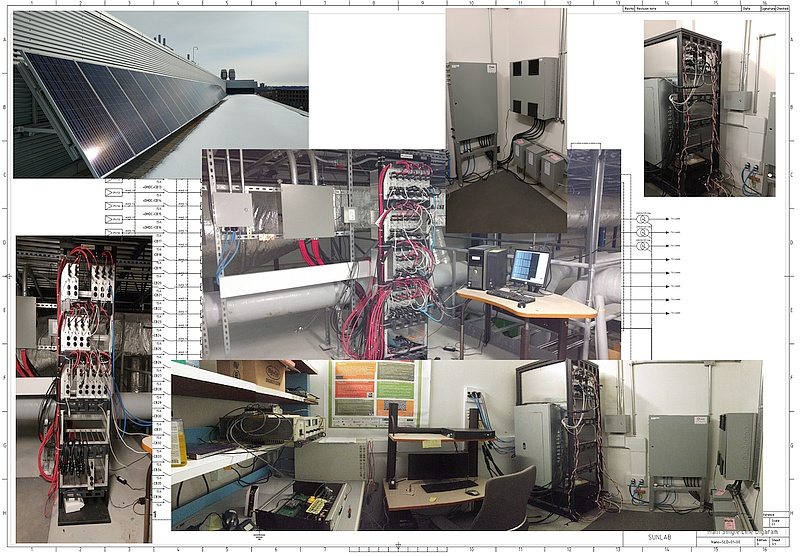 Photovoltaic nanogrid and smart inverters