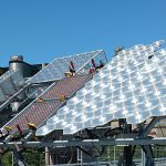 SUNLAB Solar Test Site at Sports Complex parkade rooftop: Tracker 1