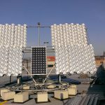 SUNLAB Solar Test Site at Sports Complex parkade rooftop: Tracker 2