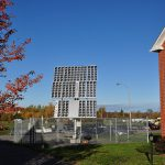 SUNRISE CPV demonstrator at National Research Council Institute for Research In Construction's Canadian Centre for Housing Technology test homes